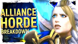 WoW's Life VS Death Showdown, The Broken BFA Timeline & Faction Fallout | Dazar'alor Breakdown