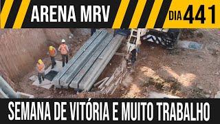 ARENA MRV | 1/7 SEMANA COMEÇA COM VITÓRIA E OBRA | 05/07/2021