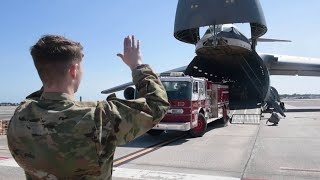 U.S. Air Force: Deliver Emergency Response Vehicles to the Dominican Republic