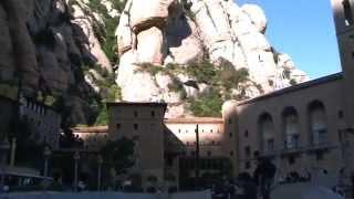 preview picture of video 'Monasterio de Montserrat - Catalunya'