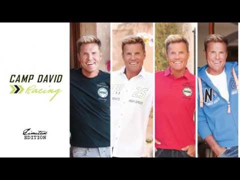 DIETER BOHLEN Racing – die streng limitierte CAMP DAVID Sommerkollektion!