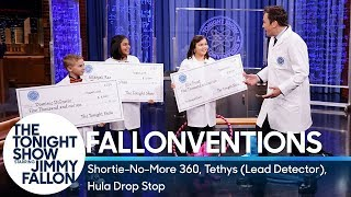 Fallonventions: Shortie-No-More 360, Tethys (Lead Detector), Hula Drop Stop - Video Youtube