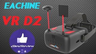 "✔ Хороший FPV Шлем Eachine VR D2, DVR, Diversity, 5"" 800*480! 79.99$!"