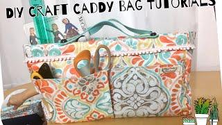 Diy Craft Bag, Craft Caddy Tutorials