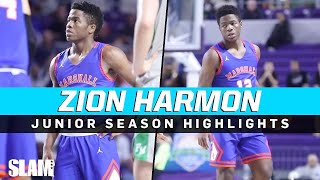 Unicorn Fam Zion Harmon is a BUCKET! Junior Season Highlights