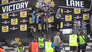 Knoxville Raceway Pace Pro Sprints Highlights - August 8, 2020