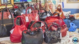 Where To Find The BEST Italian Leather Handbags In Florence!