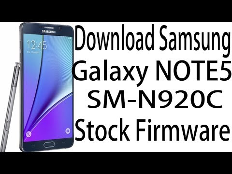 Download Samsung Galaxy NOTE5 SM-N920W8 Stock Rom ! Official