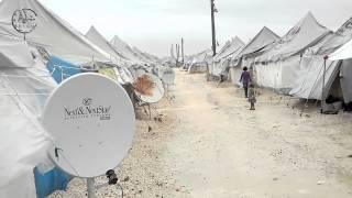 خطوة || وضع المخيمات والنازحين بمنطقة تل ابيض الحدودية مع تركيا