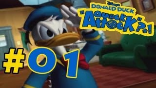 Let's Play Donald Duck Quack Attack Part 1 (German)