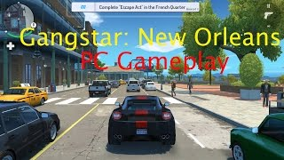 Gangstar New Orleans PC Gameplay | Ultra - 60fps | Police Chase