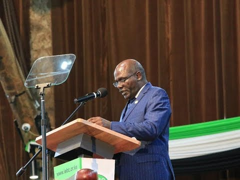 FINAL DECLARATION: How we complied with Supreme Court Ruling, Wafula Chebukati