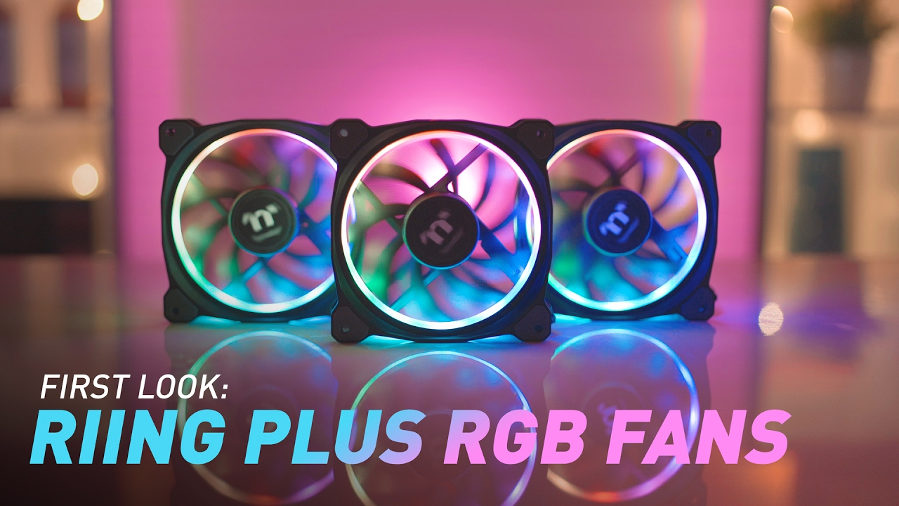 Thermaltake Global Riing Plus 12 Rgb Radiator Fan Tt Premium Create Secondary Colors From Multicolored Leds Edn Led Edition Introduction