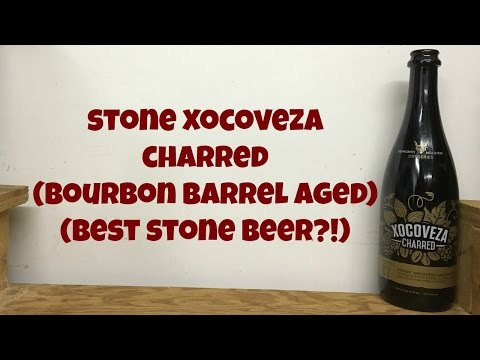 Stone Xocoveza Charred (Bourbon Barrel Aged) (Best Stone Beer?!) Review - Ep. #666