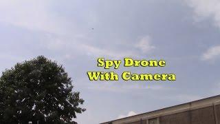Black Falcon Spy Drone With Camera Review - RC Quadcopter For Fun