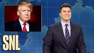 Weekend Update: A Look Back at Trump's Presidency - SNL