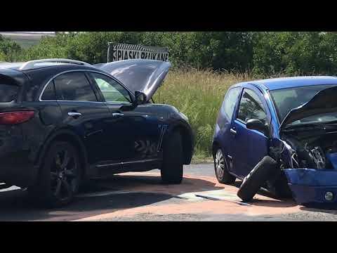 Wideo: Wypadek w Rudnej
