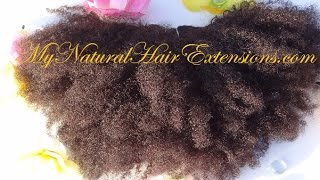 Afro Kinky Curly Weave Bundles Buy My Natural Hair Extensions