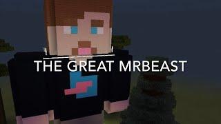 I built Mrbeast in Minecraft
