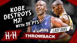 The Night Michael Jordan PASSED THE TORCH To Kobe Bryant in LAST Duel Highlights (2003.03.28)