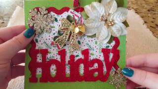 Scent Shot Depot Unboxing && My Homemade Christmas Cards!