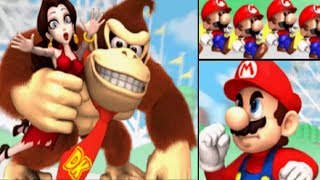 Mario Vs. Donkey Kong: Mini-Land Mayhem - World 1 Plus - Coaster Hills
