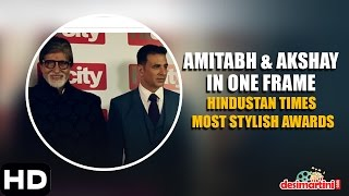 Amitabh & Akshay In One Frame | Hindustan Times Most Stylish, Delhi | 2016