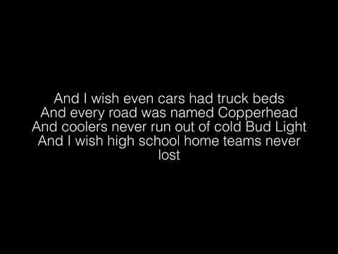 Riley Green- I Wish Grandpas Never Died Lyrics