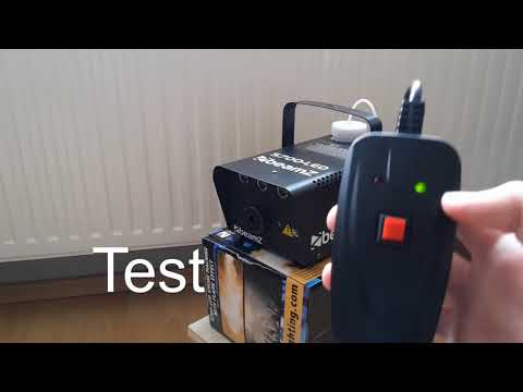 Günstige Nebelmaschine | Beamz S700-LED | Review