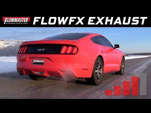 2015-17 Ford Mustang GT 5.0L - FlowFX Axle-back Exhaust System