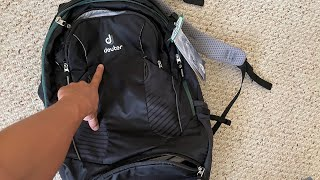 Deuter Trans Alpine 30L review (onebag reddit)
