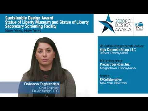 PCI Design Award Statue of Liberty Musum