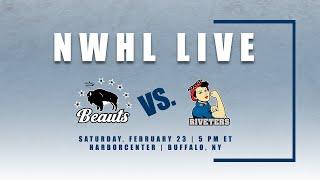 NWHL Live: Metropolitan Riveters at Buffalo Beauts 2.23.19