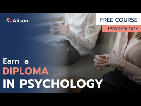Diploma in Psychology- Free Online Course with Certificate - YouTube