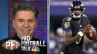 Lamar Jackson looks unstoppable vs. New York Jets | Pro Football Talk | NBC Sports