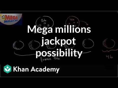 Mega millions jackpot probability (video) | Khan Academy