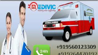 Use High-Class Life Saver Road Ambulance Service in Patna and Ranchi