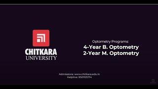 Bachelor Of Optometry With Sankara Eye Care At Chitkara University