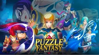 Puzzle Fantasy Battles - Android Gameplay (Beta Test)