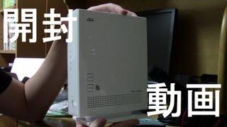 NEC無線LANAtermBL900HW開封動画
