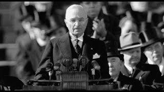 1949 Inauguration Speech of Harry Truman (Full)