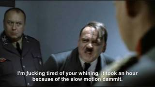 Hitler's helium slowdown rant