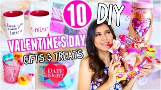 10 DIY Valentines Day Gifts & Treats You Need To Try!! 2017