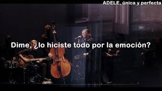 ADELE: can't let go -  traducida al español
