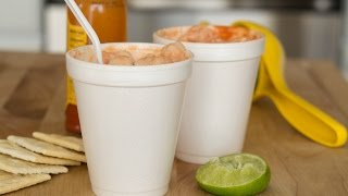 Colombian Shrimp Cocktail Recipe | How To Make Shrimp Cocktail | SyS