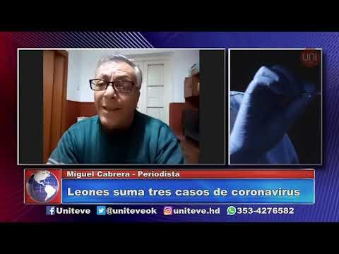 Leones suma tres casos de coronavirus