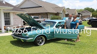 Surprising our dad with his dream car! 1966 Ford Mustang