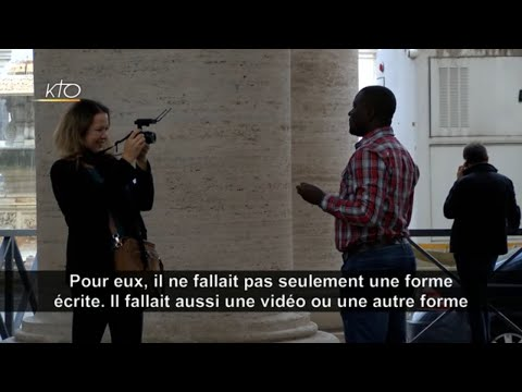 Synode 2018 : L'assemblée s'exprime en vidéo
