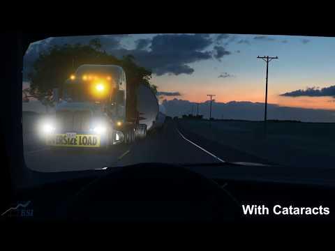 Image of Twilight Cataract Visibility 3D Simulation