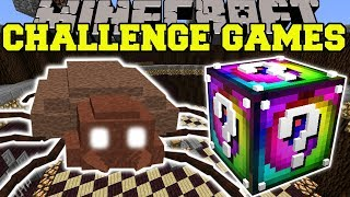 Minecraft: GIANT TICK CHALLENGE GAMES - Lucky Block Mod - Modded Mini-Game
